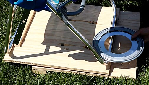 Fine How To Build An Astronomical Binocular Chair Ibusinesslaw Wood Chair Design Ideas Ibusinesslaworg