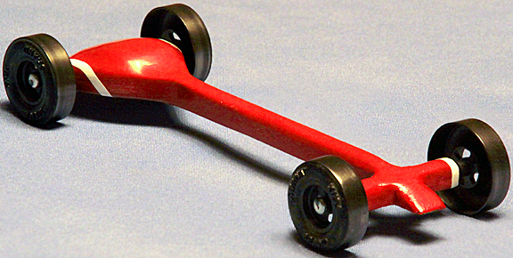 Why More People Should Be Building Pinewood Derby Cars - Derby cars