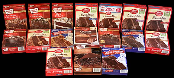 Packet Cake Mix Brands