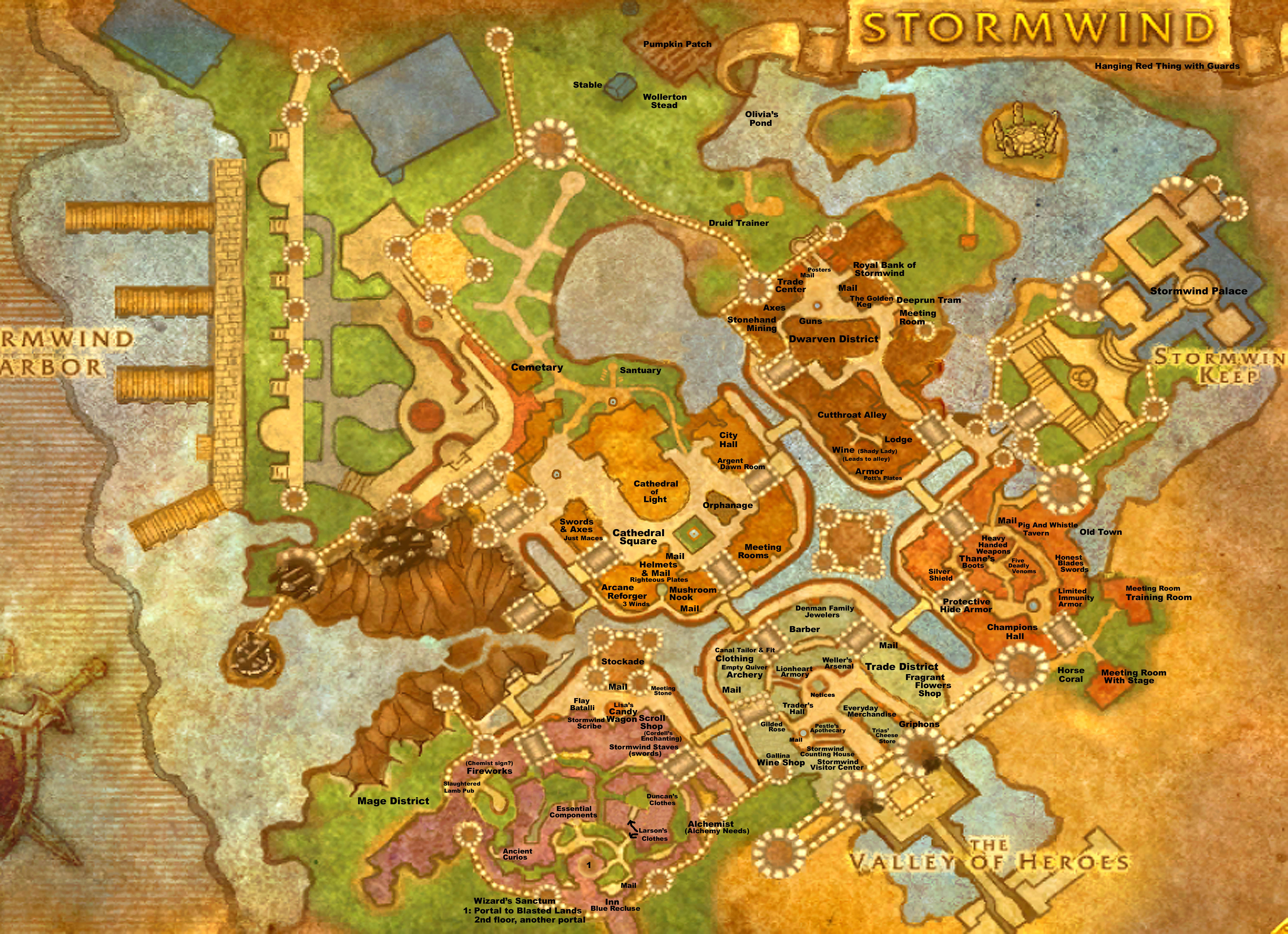 stormwind city map